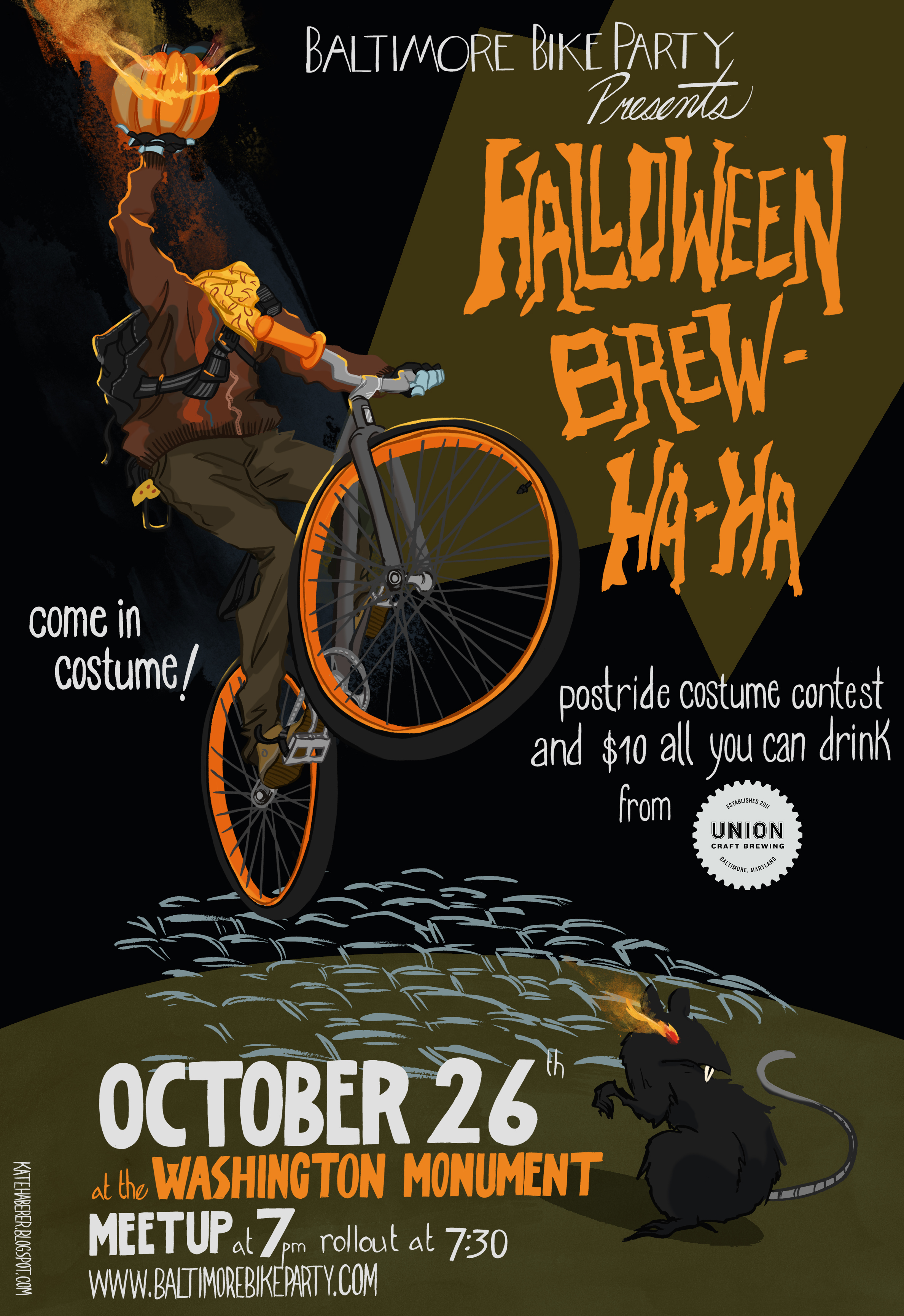 Halloween Brew-Ha-Ha! | Baltimore Bike Party