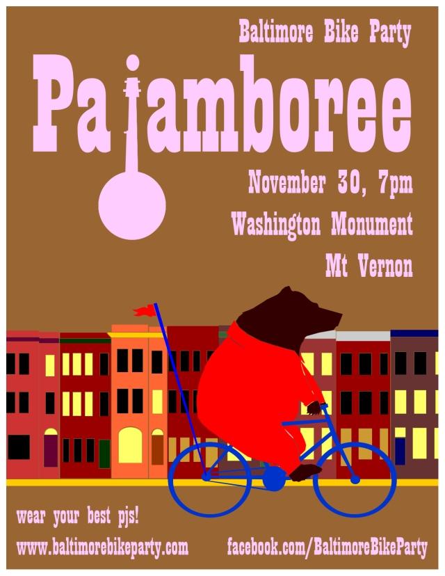 november bike party poster